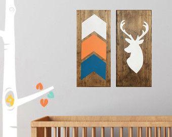 Signos de vivero de flecha tribal moderna por LittleNickyDesigns