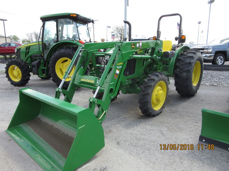 John Deere 5065E & H240 loader