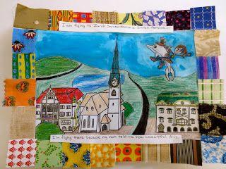 Zilker Elementary Art Class: 5th Grade Faith Ringgold Story Quilts