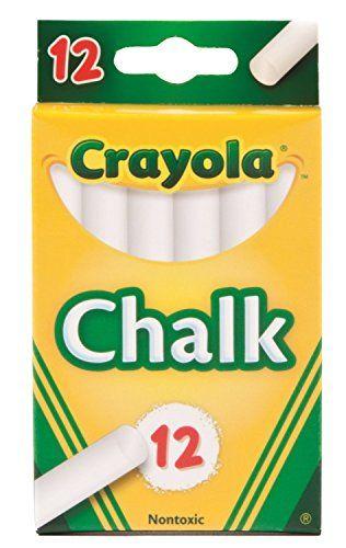 Crayola Chalk, White,12 Count ( Case of 36 ) Crayola https://www.amazon.com/dp/B013FPMABI/ref=cm_sw_r_pi_dp_Lk-Nxb3SB92RB  10 each
