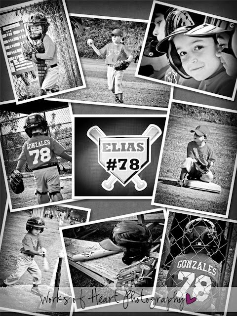 Sports Photography...cute baseball pics I would love to do this f or the during softball
