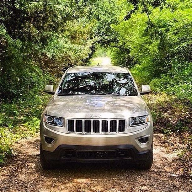 """69 Likes, 18 Comments - Sandy the Jeep (@sandythejeep) on Instagram: """"It's Sandy's first #frontendFriday!"""" 2014 Jeep Grand Cherokee Laredo  Gold  WK2 JGC Black Rims 4x4 Overlanding Adventure Outside camping front end"""