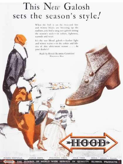 Vintage Clothes/ Fashion Ads of the 1920s (Page 6) -- the Galosh