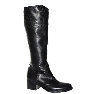 #Stivale #EmanuelaPasseri in pelle nera http://www.tentazioneshop.it/scarpe-emanuela-passeri/stivale-2653-nero-emanuela-passeri.html