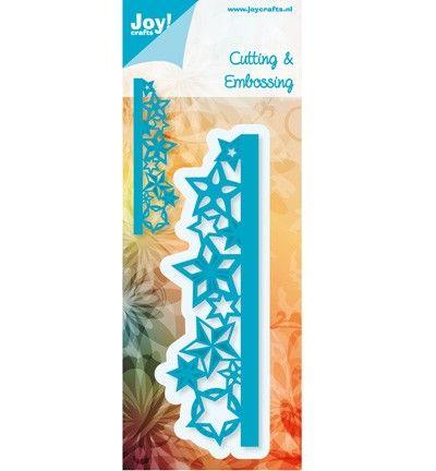 6002/0411 Noor! Design Rand met sterren 1 st.