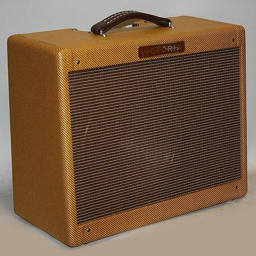 My Victoria amp. Exacting build of classic 50s Fender tweed amp.