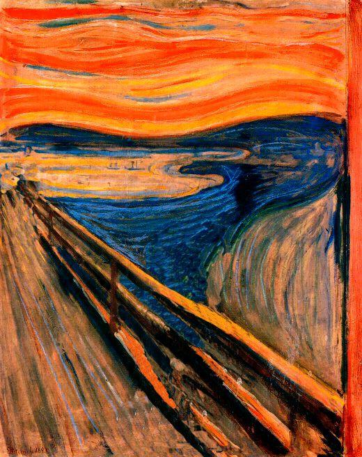 El grito de E. Munch
