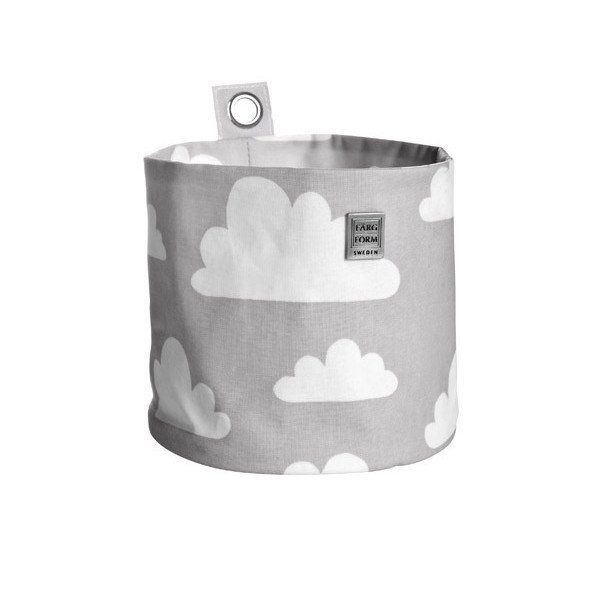 Moln Cloud Grey Hang Storage - 2 Sizes Available