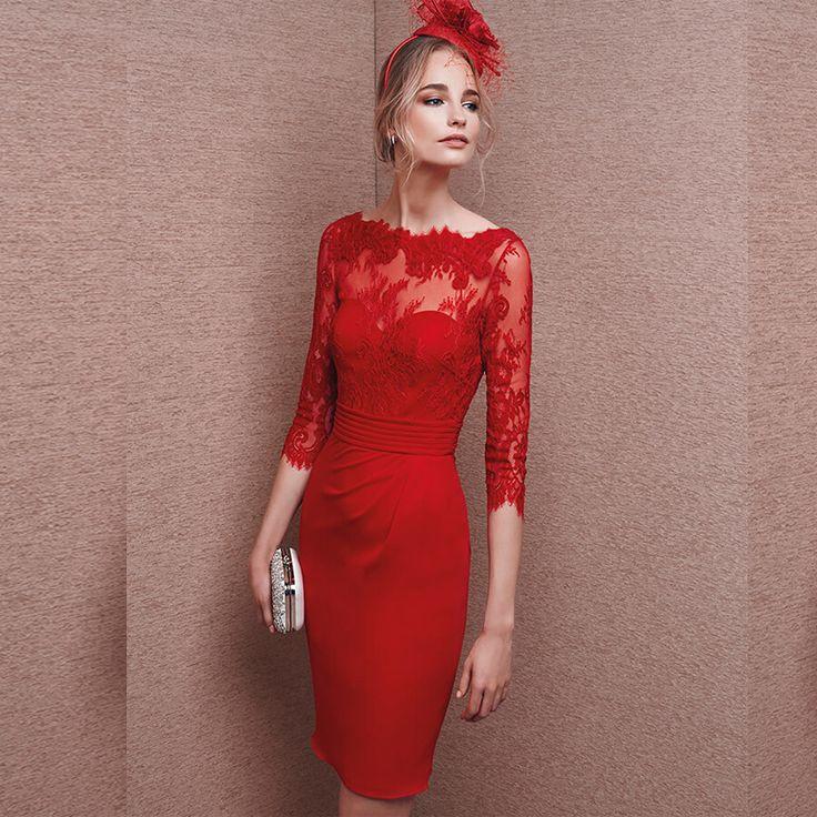 25 besten Kleider Bilder auf Pinterest | Abendkleider, Kleider und Rot