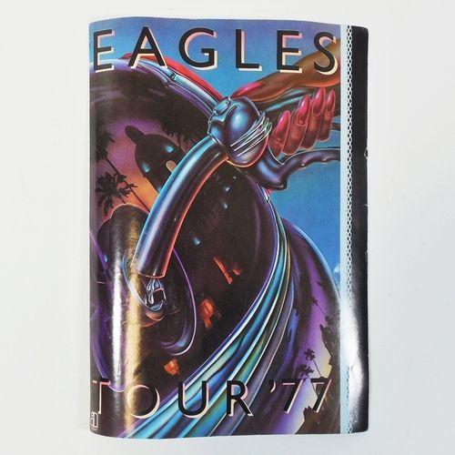 "The Eagles Tour '77 Promo Sticker 5"""" x 7"""" - Asylum Records, Hotel California"
