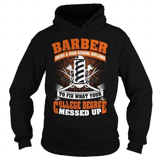 I Love BARBER COLLEGE T-Shirts