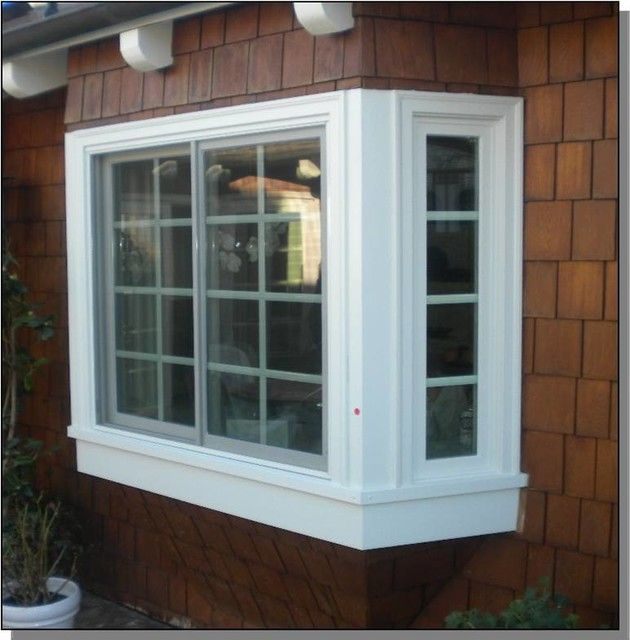 Renewal By Andersen Bay Window Traditional Orange Box Windows Bay Window Windows Window Benches