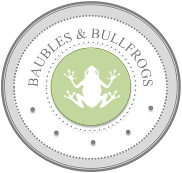 Baubles & Bullfrogs! Get 10% off with coupon code: PINTEREST10 http://etsy.me/1MIH56F