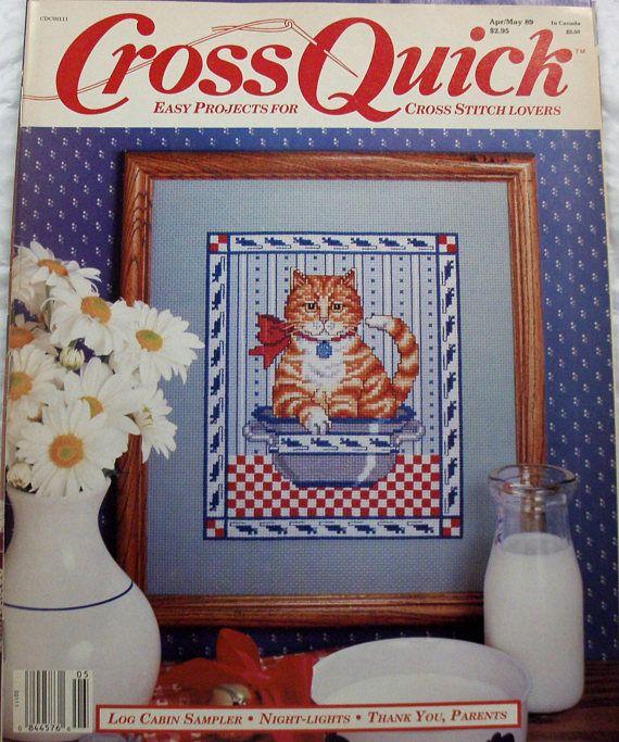 Lot of 3 Cross Stitch Magazines Counted Cross Stitch