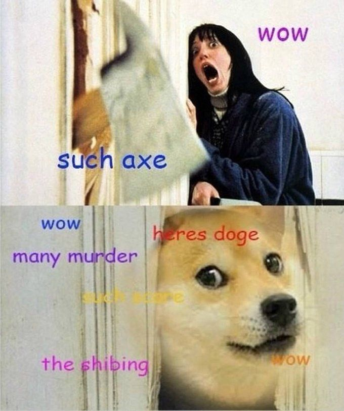 The Shibing (The Shining doge meme)