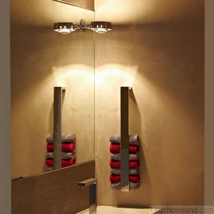 Idee für Handtuchaufbewahrung Lampe: Occhio Verticale