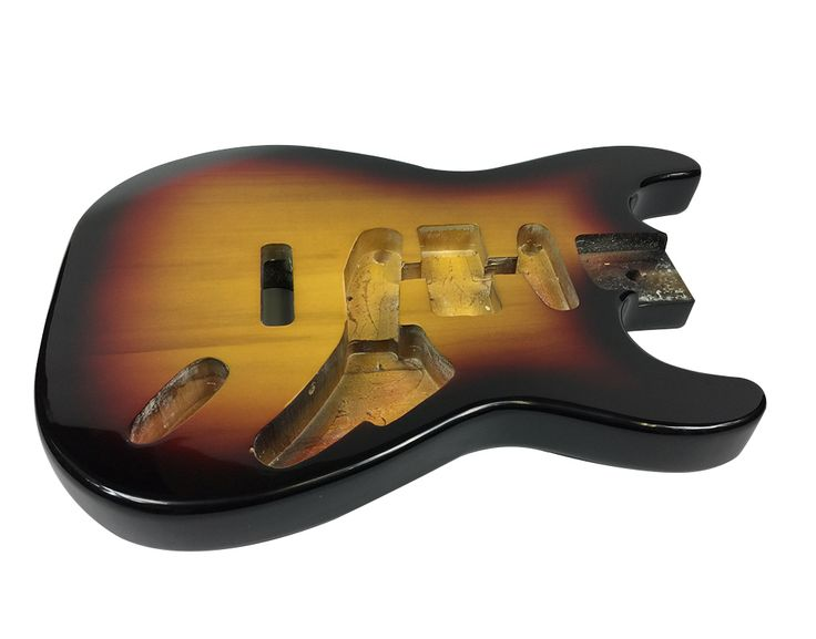 Buy online the best selection of Solo Strat Style Finished Guitar Body, Sunburst at Solomusicgear.com. We provide high quality products in Canada at an affordable price.