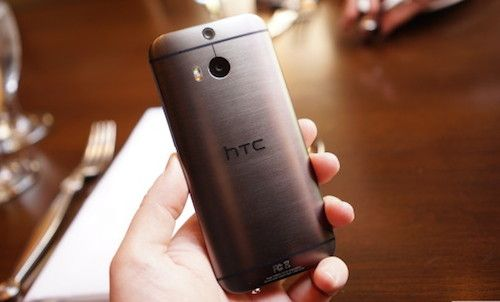 Eye upcoming HTC M8 dual 13 megapixel camera