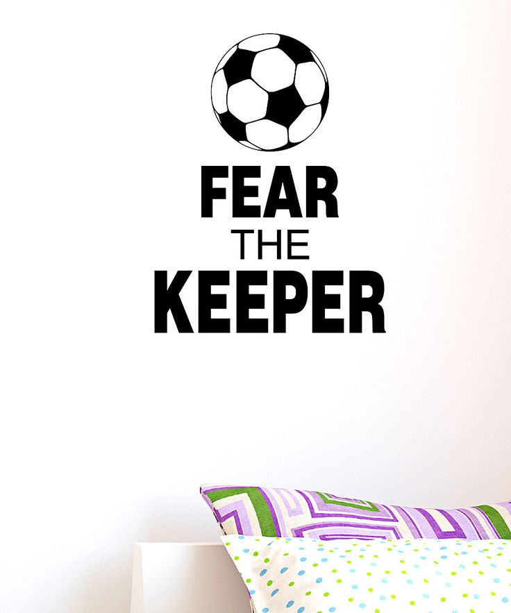Take a look at this 'Fear the Keeper' Wall Quote on zulily today!