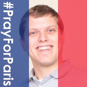 Pray for Paris - Change Profile Picture to Support France with French Flag