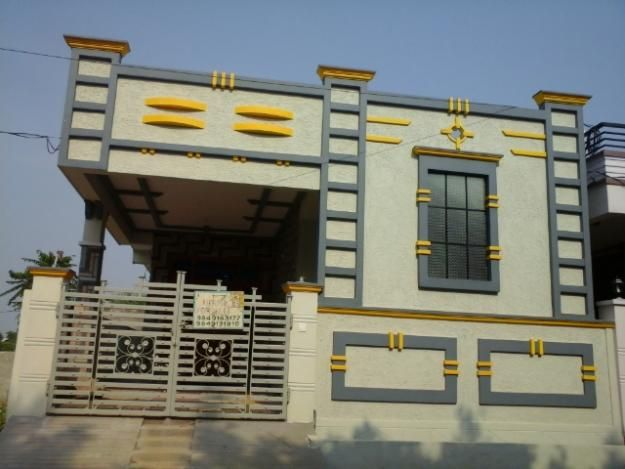 Image Result For Modern Independent Houses Small House Design Exterior House Balcony Design Village House Design