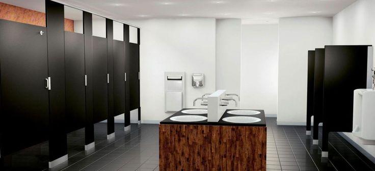 25 best commercial bathroom ideas on pinterest master - Commercial bathroom stall hardware ...