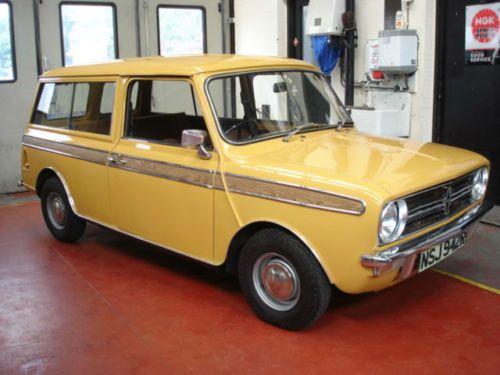 austin mini leyland cars mini clubman 1100 estate only 5 000 miles mini clubman. Black Bedroom Furniture Sets. Home Design Ideas