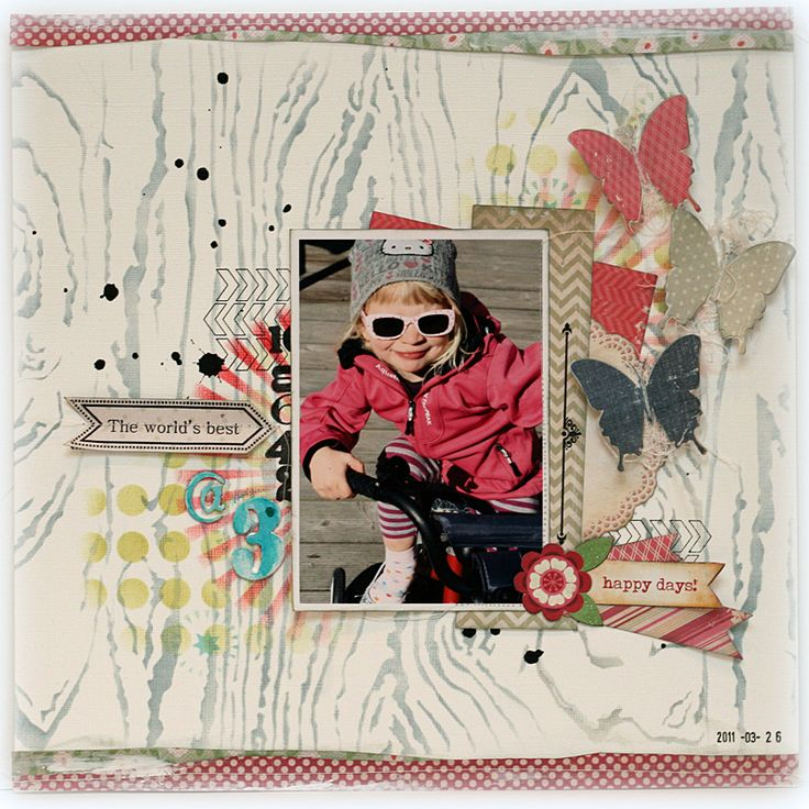 For the studio challenges using some Teresa Collins /Photocentric stamps