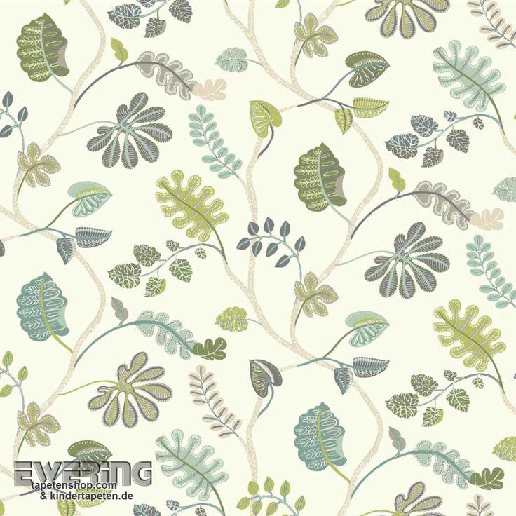 Rasch Textil Waverly Small Prints 23-326849 Naturmuster Tapete