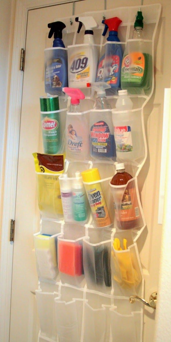 Storage Idea for Cleaning Supplies   Goods Home Design. 47 best Storage Ideas images on Pinterest