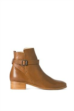 Ankle Strap Boot - from Trenery