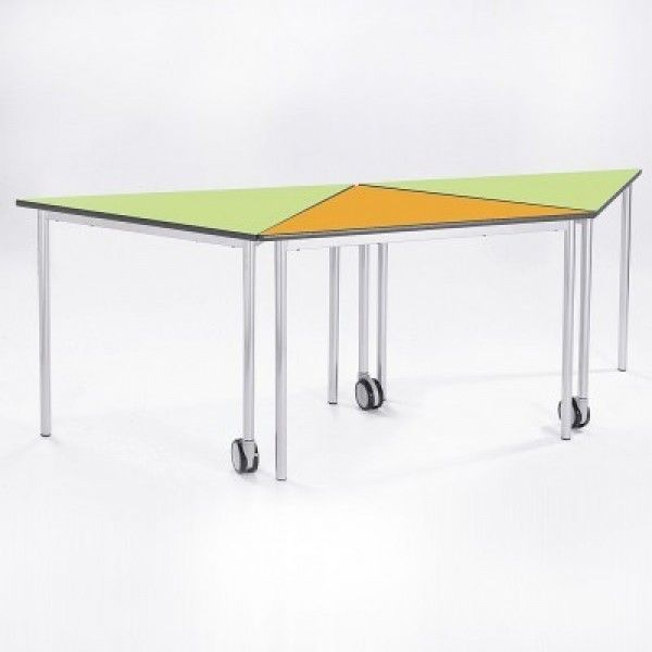 Modern Classroom Tables : Tri tables modular furniture for schools classroom