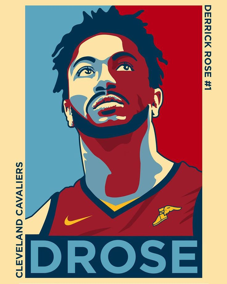 Derrick Rose presidential artwork