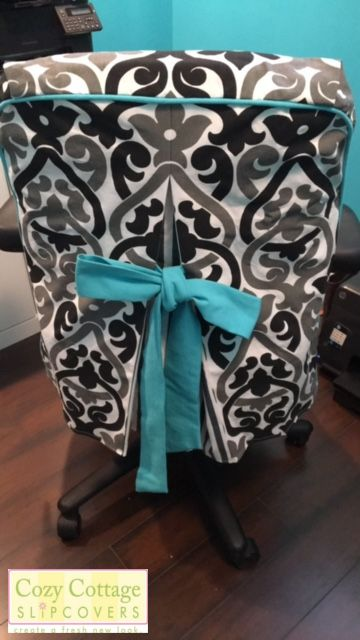 Pretty Office Chair Slipcover