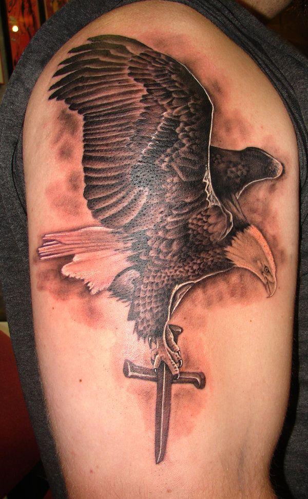30 Awesome Eagle Tattoo Designs   Best Eagle tattoos ...