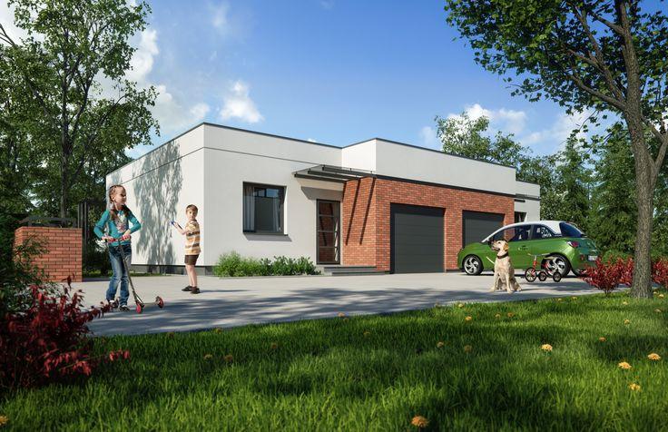 Ekskluzywne osiedle domków w Osielsku. Projekt Moderator Inwestycje.   #architektura #dom #rodzina #render