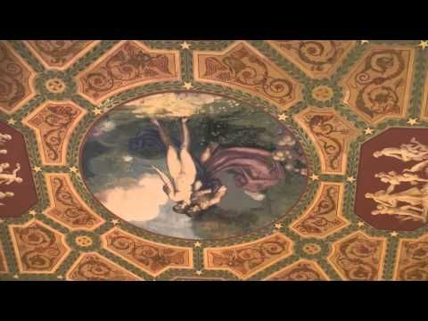 ▶ Palmer House Chicago, Magnificent Mural On Lobby Ceiling - YouTube