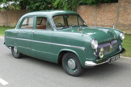 Ford Consul MK1  (1955) .... A Beauty :-)