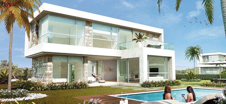 Aguamarina Beach Resort - Casas Calamares - Exterior Casa