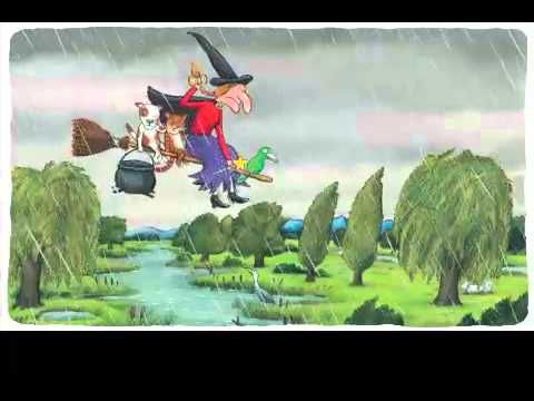 ▶ Room on the Broom: I LOVE this book! I read it to my kids all the time..and whoosh they were gone!