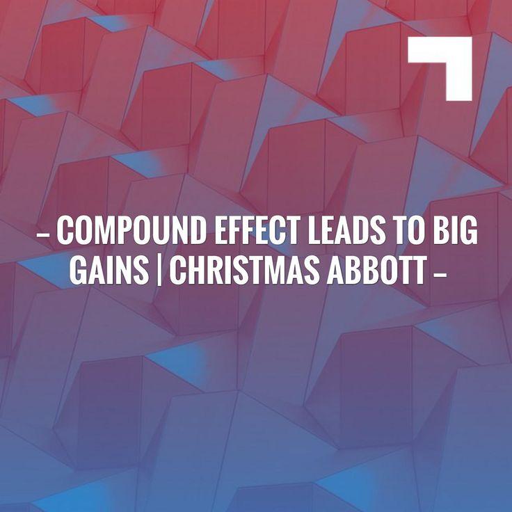 Compound Effect leads to Big Gains | Christmas Abbott http://sweat.slimclipcase.com/compound-effect-leads-to-big-gains-christmas-abbott/?utm_campaign=crowdfire&utm_content=crowdfire&utm_medium=social&utm_source=pinterest