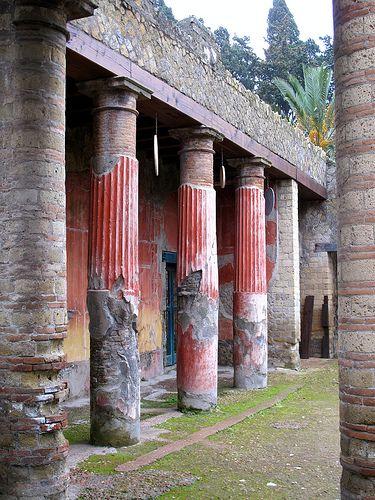 Patio de una domus en Pompeya