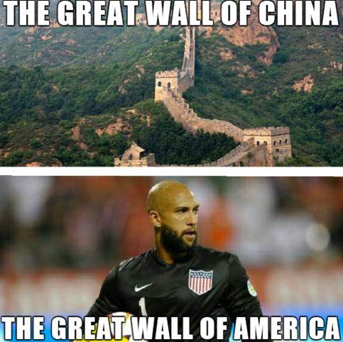 tim howard great wall