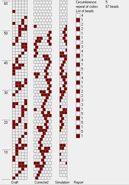 Схемы тонких жгутов » Бисерные