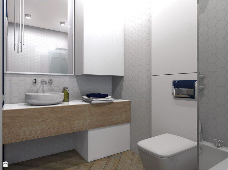 Łazienka styl Nowoczesny - zdjęcie od hb architektura.projektowanie - Łazienka - Styl Nowoczesny - hb architektura.projektowanie