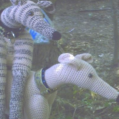 Knitting Patterns For Greyhound Sweaters : Greyhound Stuffed Animal Life Size Greyhound Dog by ...