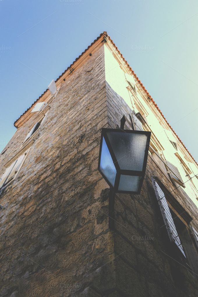 Old Architecture Lamp by Photo Infusion on @creativemarket