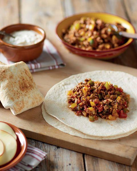 Turkey Mince Burritos - ALDI UK | Turkey mince, Mince ...