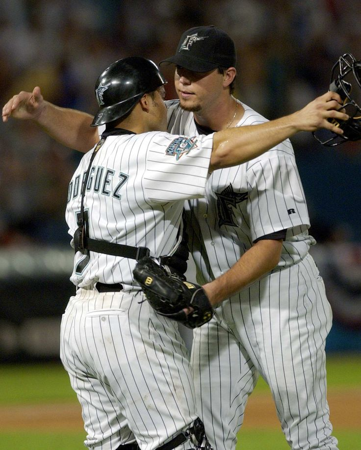 One of my faves because he was the Marlins best pitcher when they won it all in 03.
