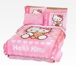 Hello Kitty Bedding Sets: Teddy
